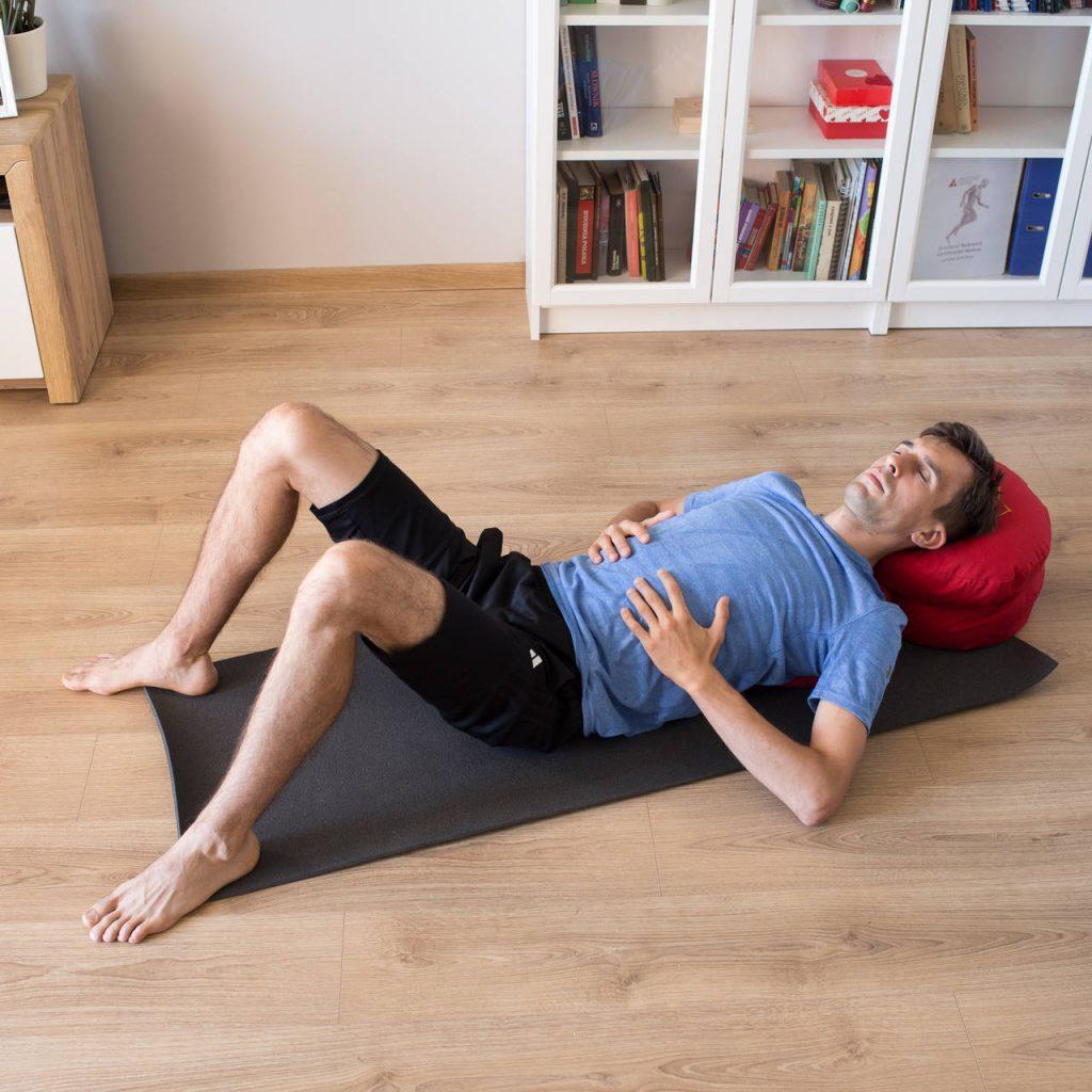 Ćwiczenie pokazujące jak oddychać